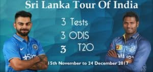 India Versus Sri Lanka Test Match