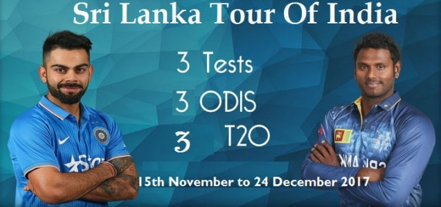 India Versus Sri Lanka Test Match