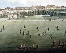 history of cricket in year 1817