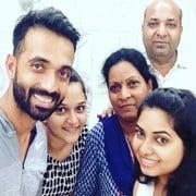 Ajinkya Rahane family
