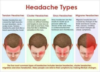 different types of headaches and causes cricketbio