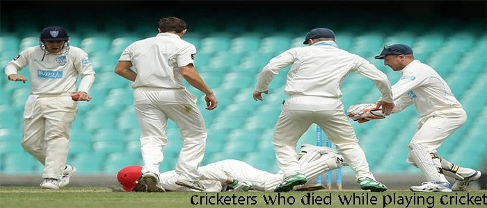 Cricketers Who Died While Playing Cricket