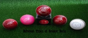 Different Types of Cricket Balls