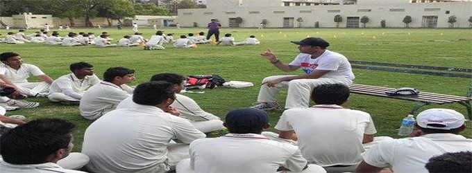 Sehwag Cricket Academy which is comes in the list of top 10 cricket academy in india