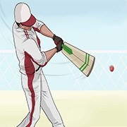 cricket bat swing