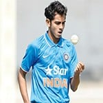 cricket bowler focus on game