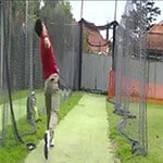 cricket bowling practice