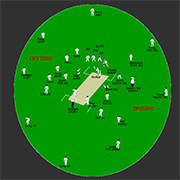 cricket field placement