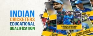 Indian Cricketers Education Qualifications
