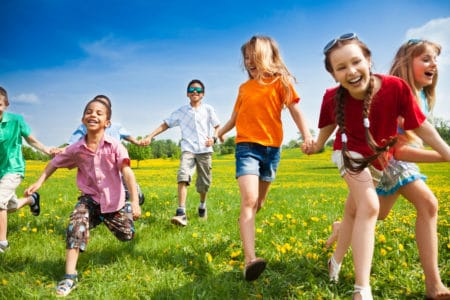 Benefits of Nature for Children Health