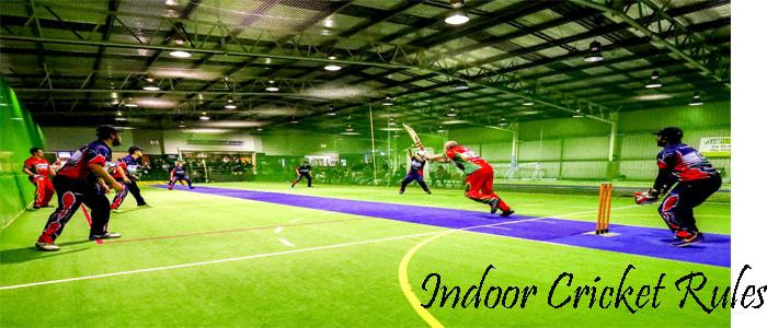 indoor cricket rules